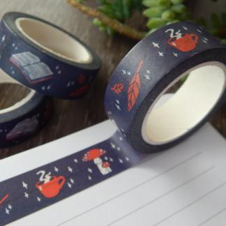 Cosy Autumn Washi Tape Cute Stationery