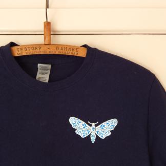 Moth T Shirt Delft Porcelain Clothing